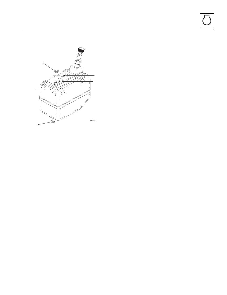 2 fuel tank, Fuel tank | JLG 4017 Service Manual User Manual
