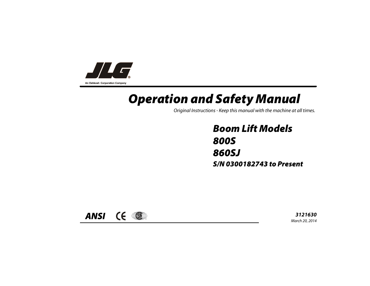 jlg 860sj operator manual user manual 130 pages also for 800s rh manualsdir com jlg scissor lift operators manual jlg boom lift operators manual