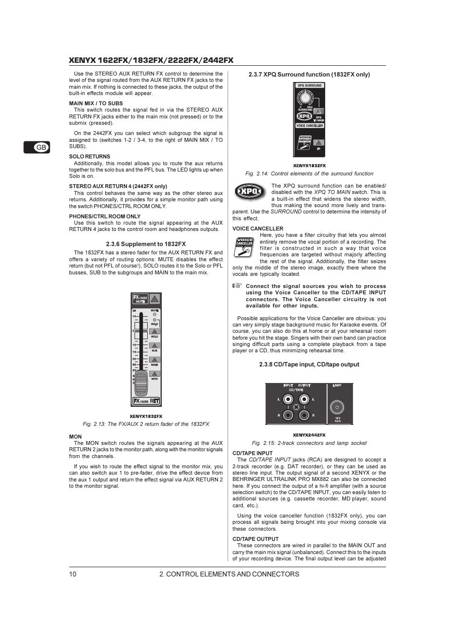 Behringer 2442fx Manual Diagram And W Tracking The Signal Go To Www Retrevo Com Background Image User Array Xenyx 1622fx Page 10 17 Original Mode Rh Manualsdir