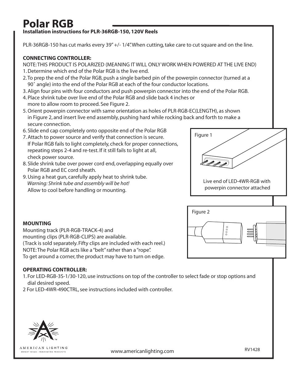 Polar rgb | American Lighting PLR-36RGB-150 User Manual | Page 2 /  sc 1 st  manualsdir.com & Polar rgb | American Lighting PLR-36RGB-150 User Manual | Page 2 / 2 ...