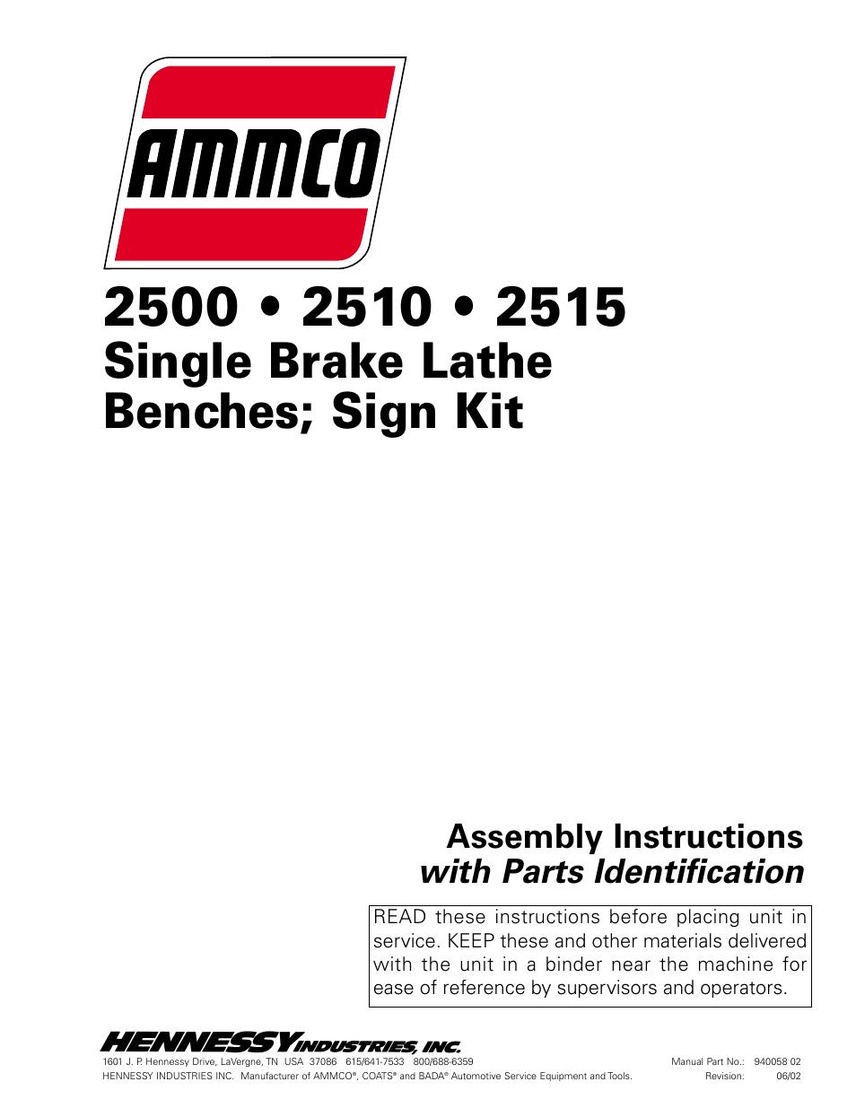 Ammco 3000 Brake Lathe Repair Manual Best 2017 Wiring Diagram Diagrams