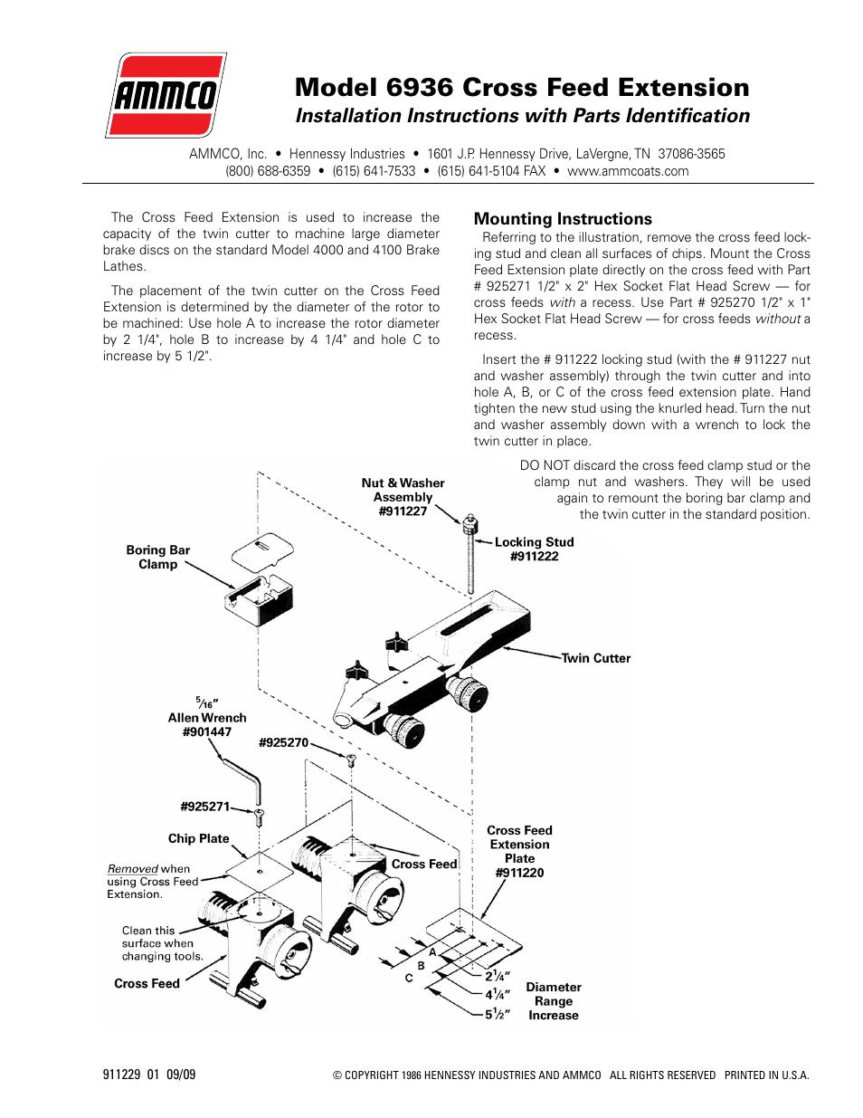 Ammco 4000 Brake Lathe Diagram Electrical Wiring Ke Metal Manual