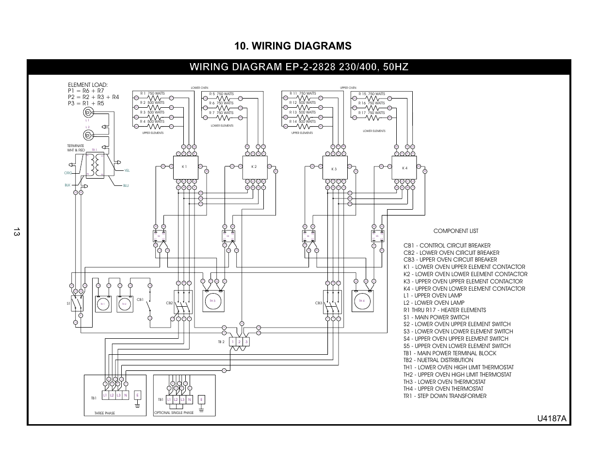 wiring diagrams  u4187a
