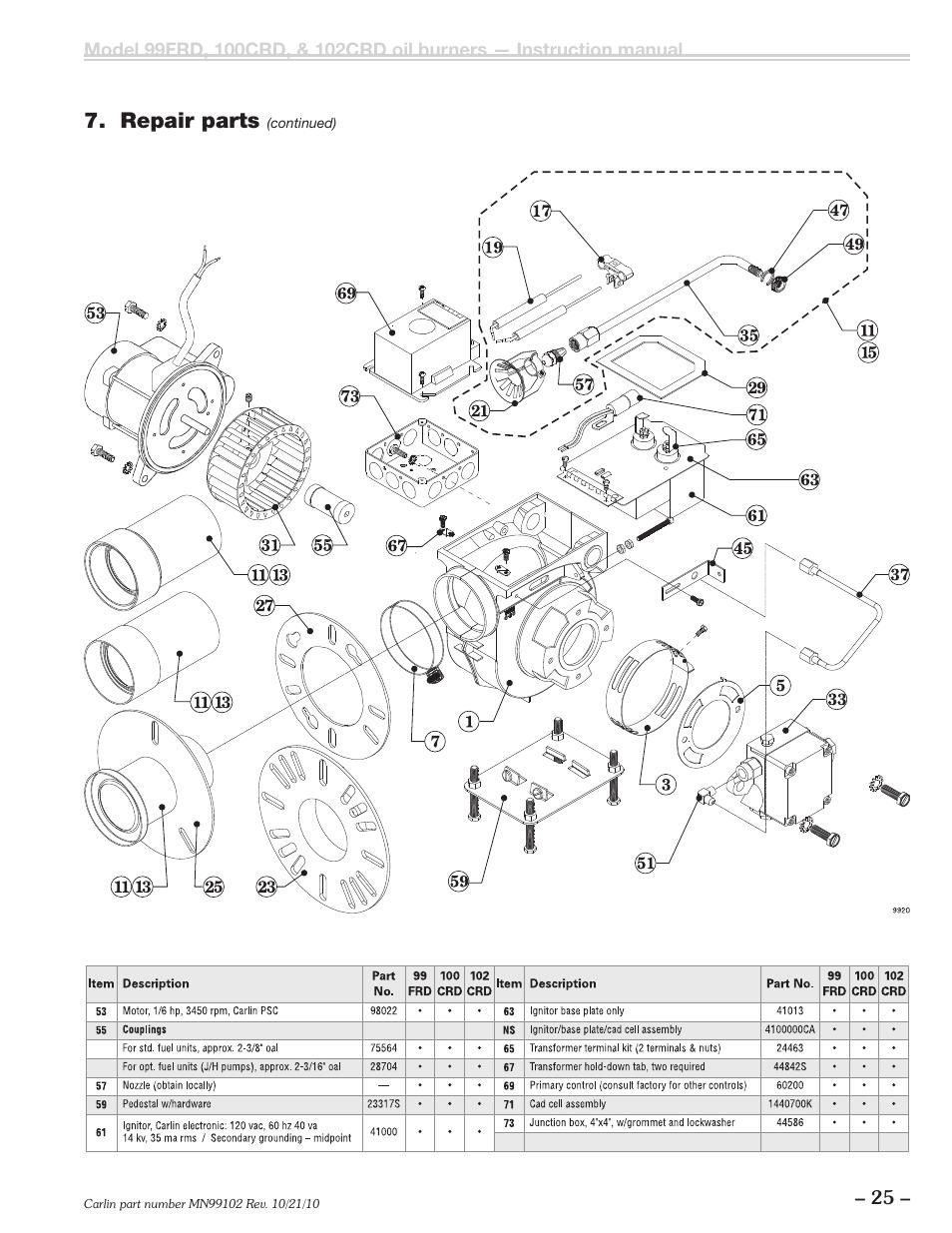 carlin oil burner wiring diagram