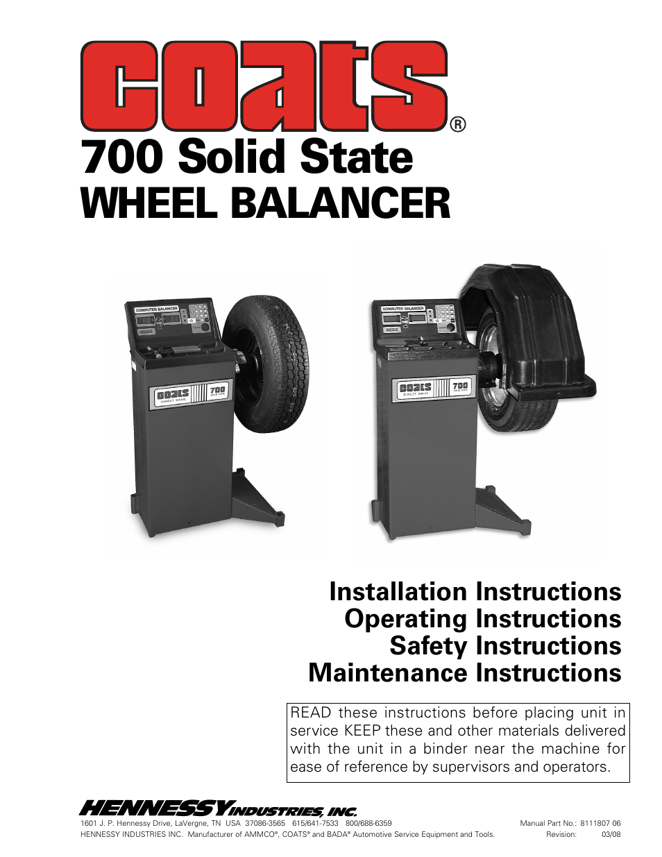 coats 700 solid state wheel balancer user manual 16 pages rh manualsdir com coats 700 tire balancer parts coats 700 wheel balancer parts