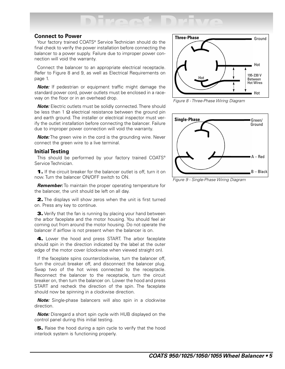 coats 1055 balancer page11 direct drive coats 1055 balancer user manual page 11 24 john deere 1050 wiring diagram at panicattacktreatment.co