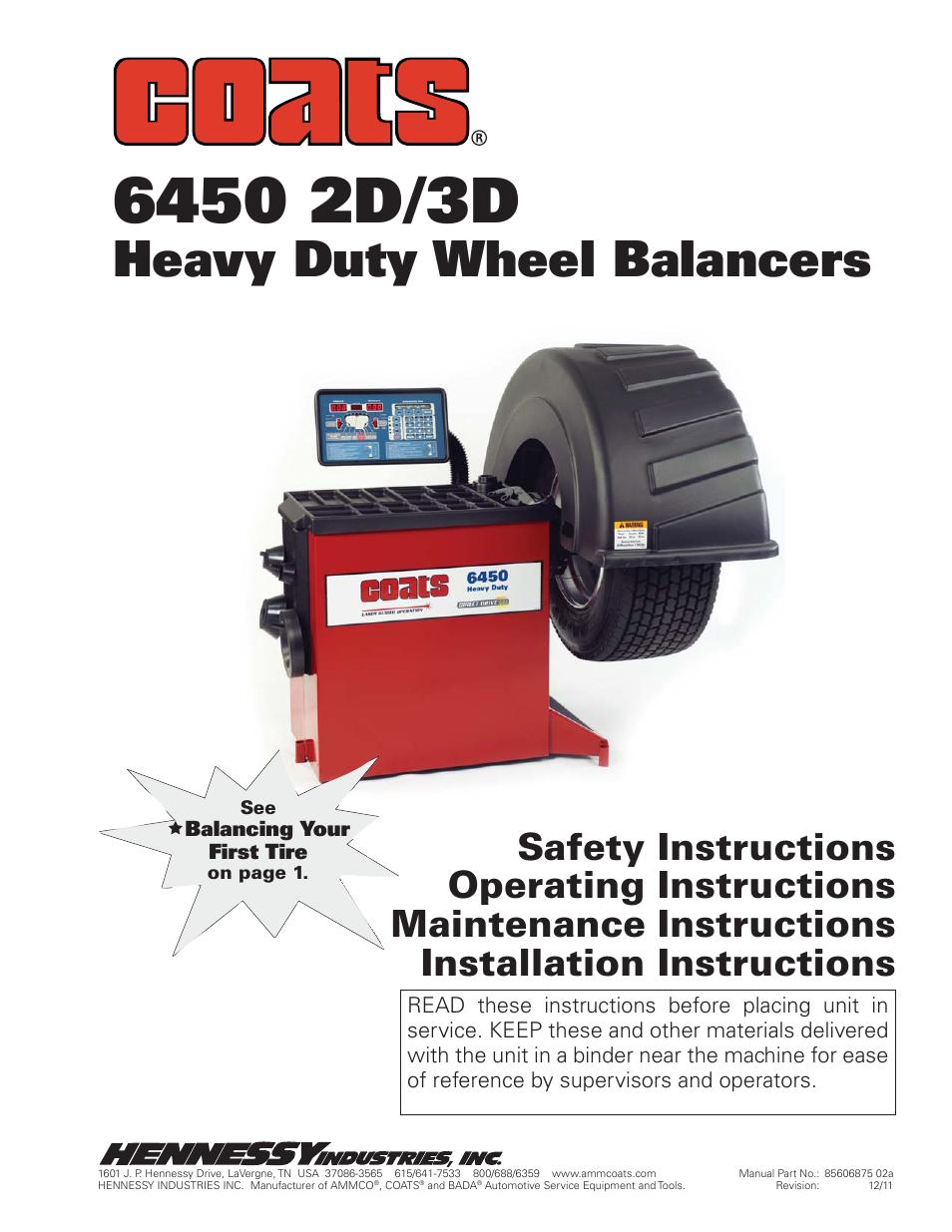 coats 6450 3d user manual 28 pages rh manualsdir com coats 600 wheel  balancer manual coats 875 wheel balancer calibration