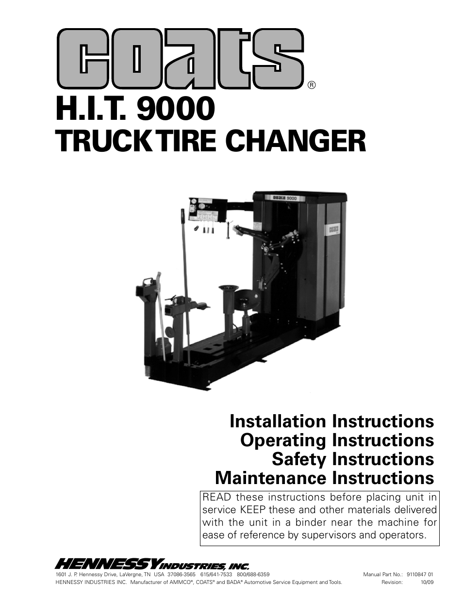manual tire changer instructions