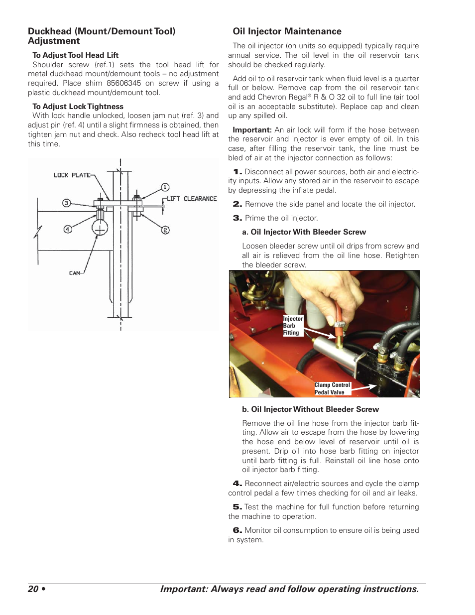 Coats 5040 A E Tire Changer User Manual Page 24 28