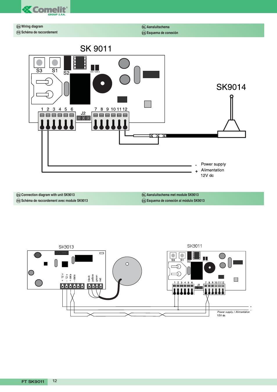 comelit video intercom manual
