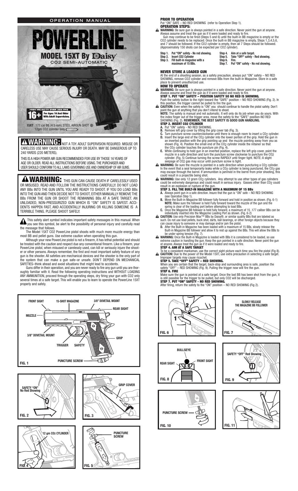 Daisy Powerline 15xtp User Manual