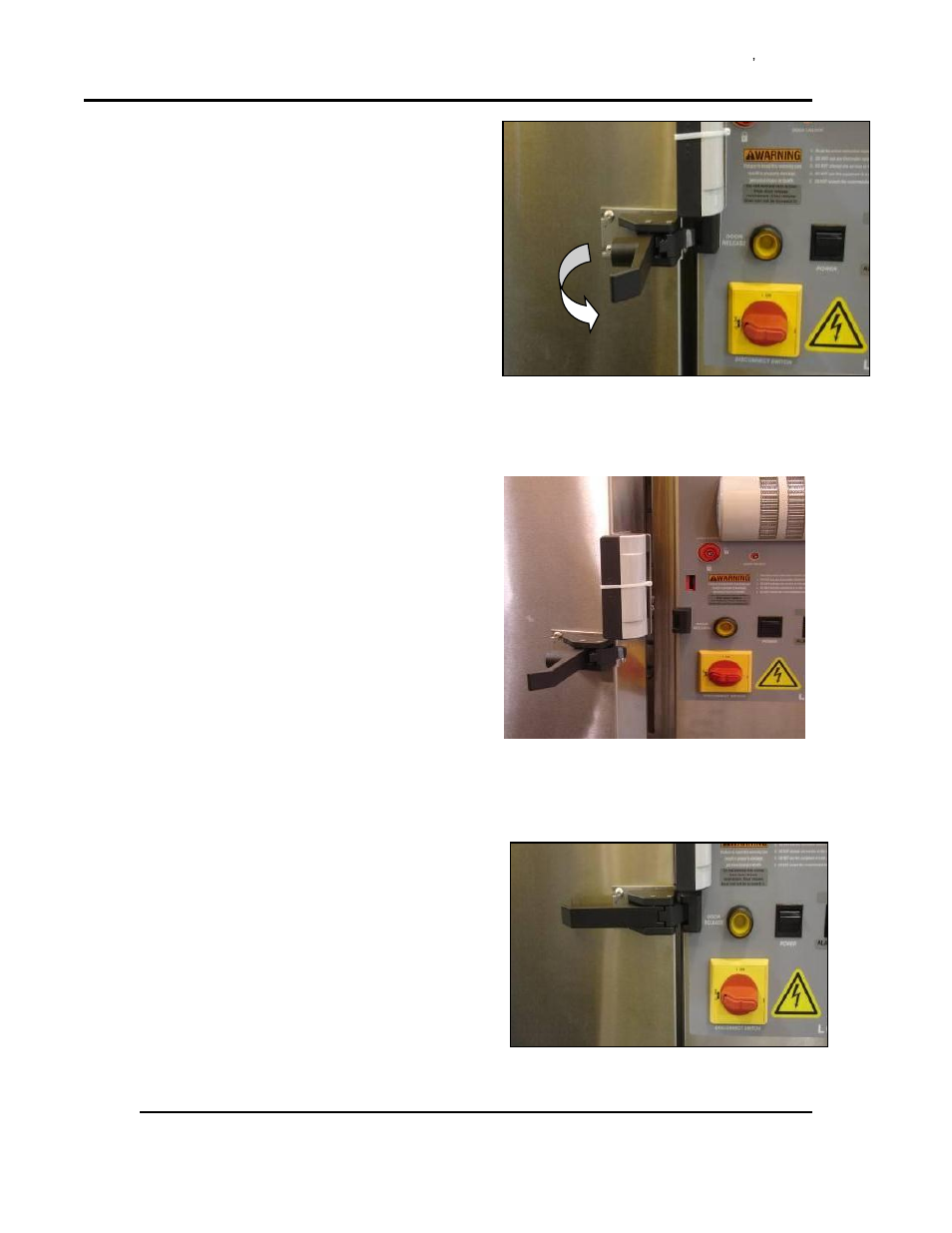 To Close The Lcc Lcd1 52v 1 51nv Oven Door Despatch Stackable Electronic Release Lcd 4 User Manual Page 42 67