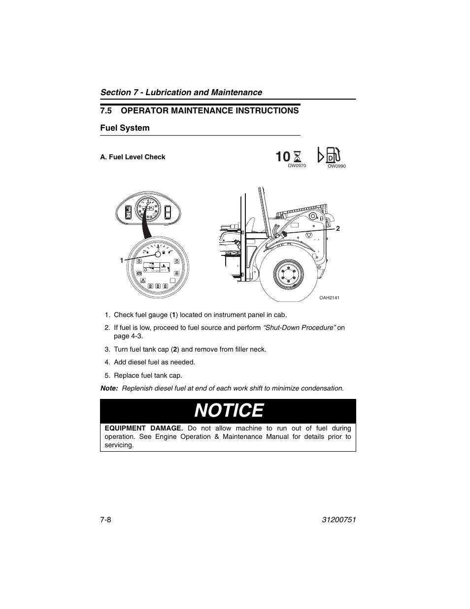 Deutz Fuel System Diagram Trusted Wiring Diagrams Engine 5 Operator Maintenance Instructions Freightliner