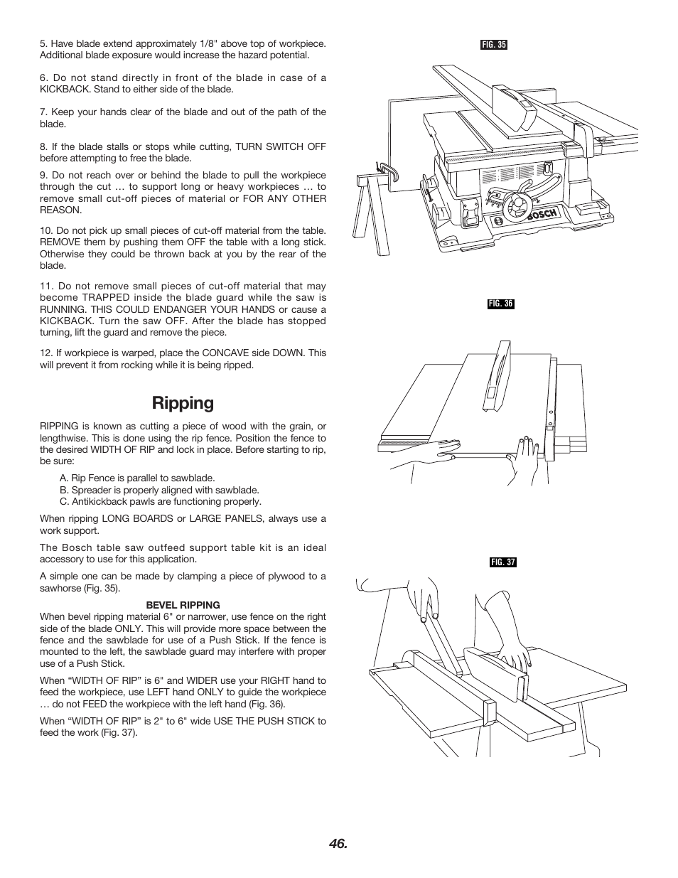 Ripping bosch 4000 user manual page 46 68 original mode ripping bosch 4000 user manual page 46 68 greentooth Choice Image