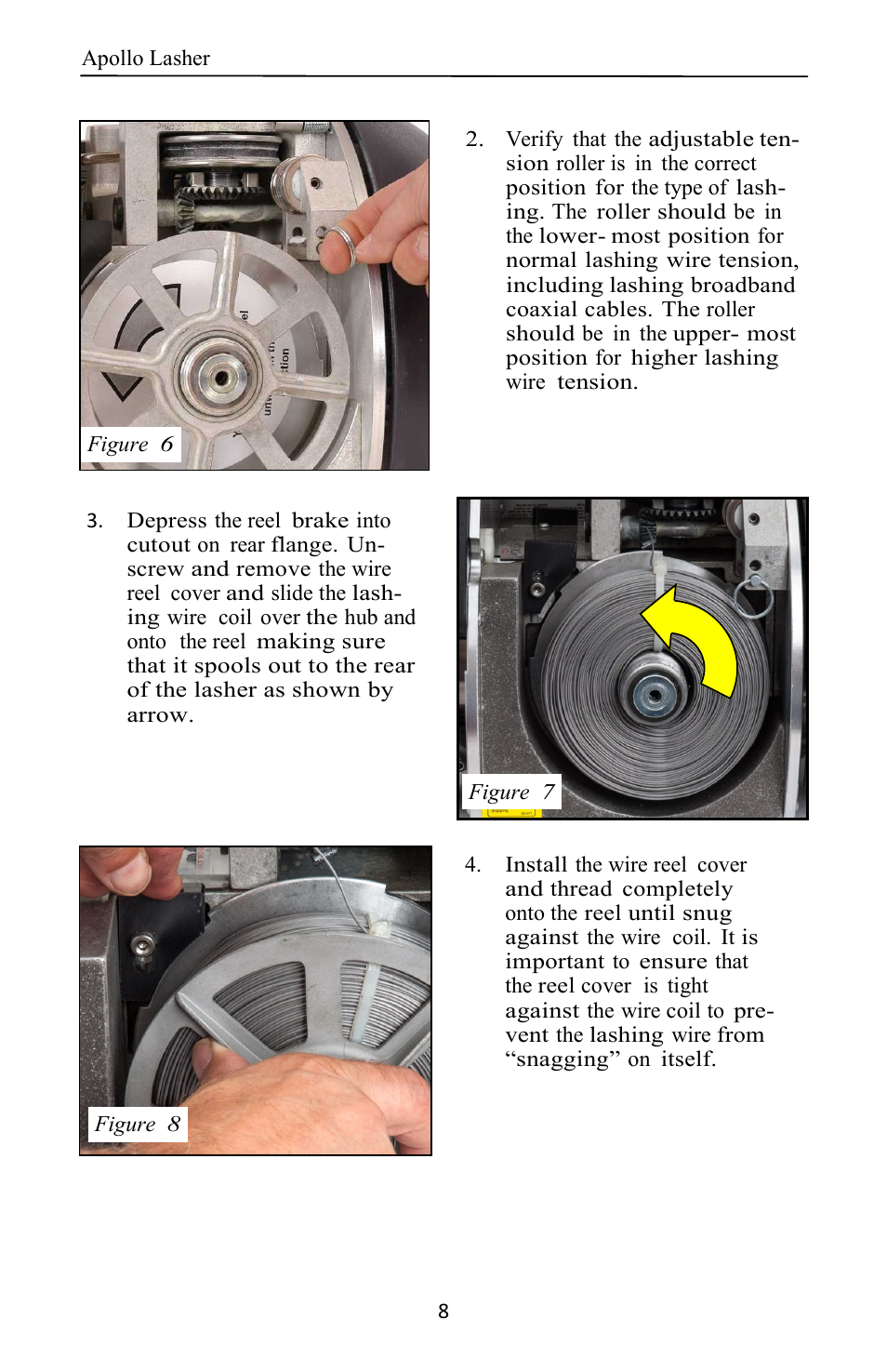 General Machine Products 70400 Apollo Cable Lasher User Manual ...