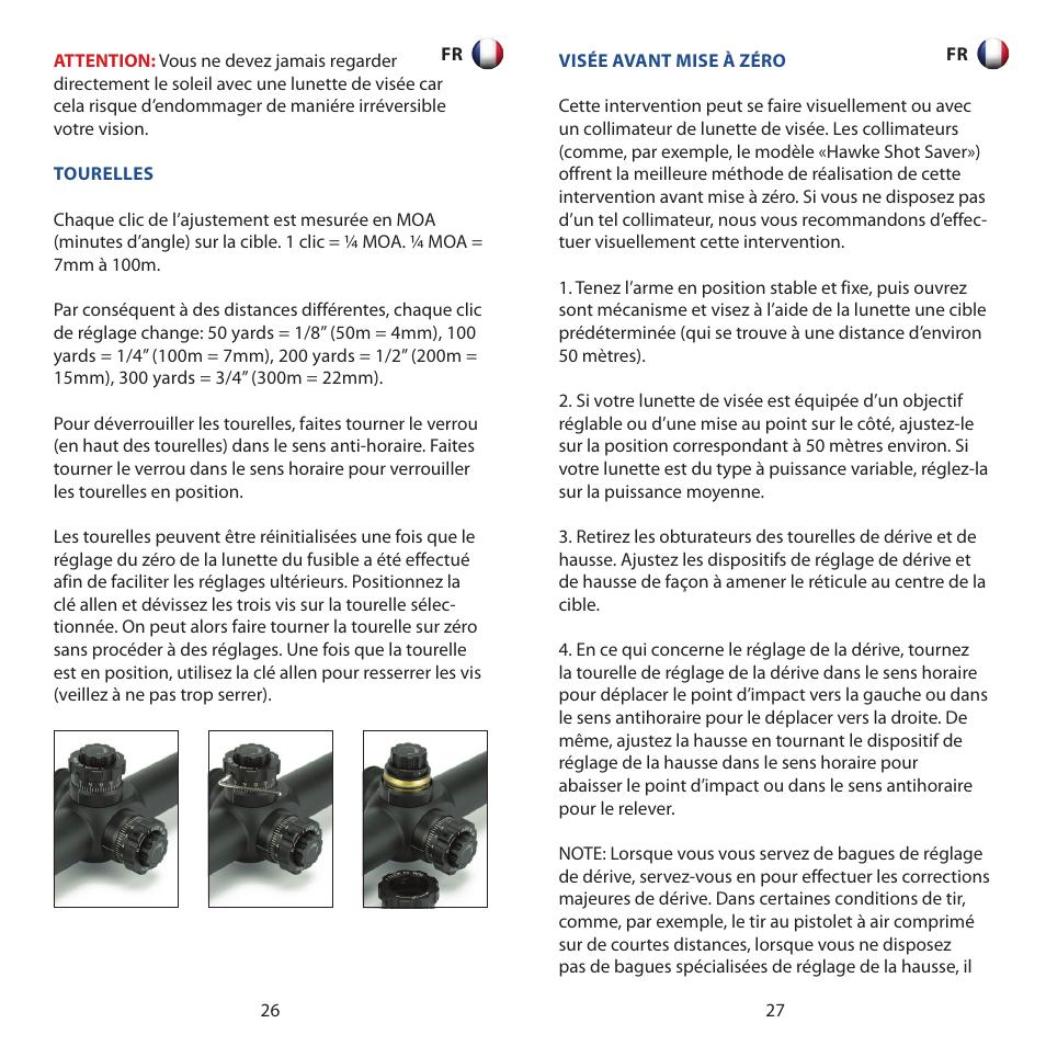 Hawke Optics Airmax 30 8-32x50 User Manual   Page 14   30   Also for   Airmax 30 6-24x50, Airmax 30 4-16x50, Airmax 30 3-12x50 7af3220f2711