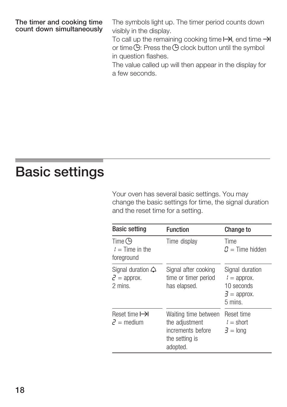 Basic Settings Bosch Hbn 13120 A User Manual Page 18 36