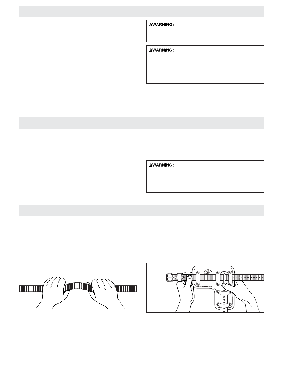 General inspection procedures, How to use klein pole and