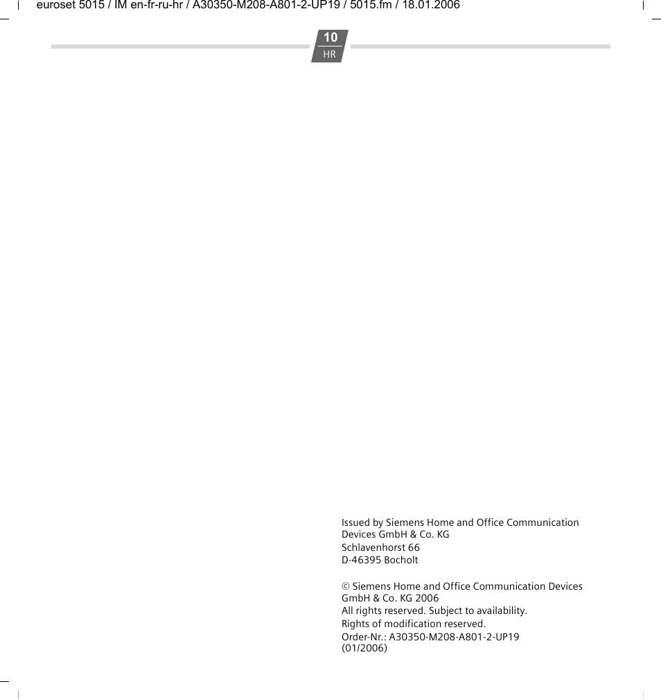 siemens русском на инструкция 5015