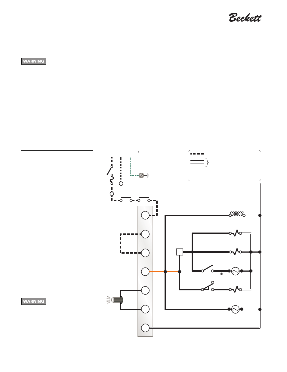 Beckett Burner Wiring Diagram Manual Guide