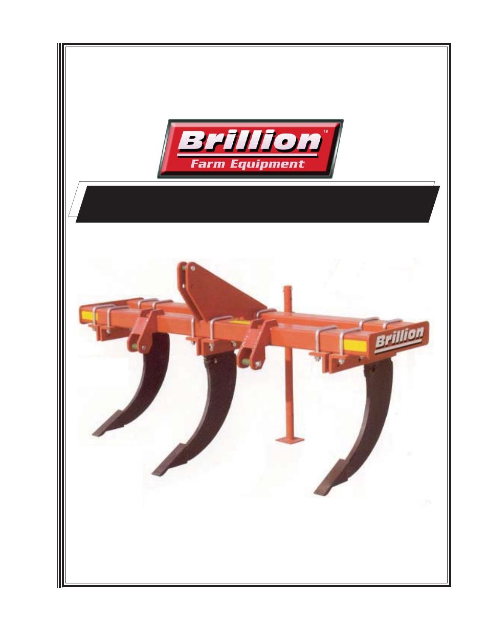 Landoll SCPH-33 Subsoil Chisel Plow User Manual | 18 pages | Also for:  SCP-33 Subsoil Chisel Plow, SCPH-23 Subsoil Chisel Plow, SCP-23 Subsoil  Chisel Plow