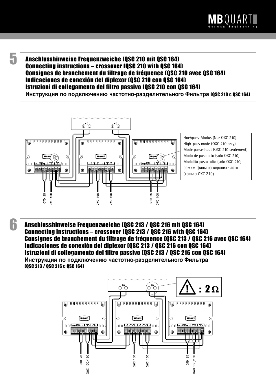 MB QUART QSC 216 User Manual | Page 8 / 9 | Also for: QSC