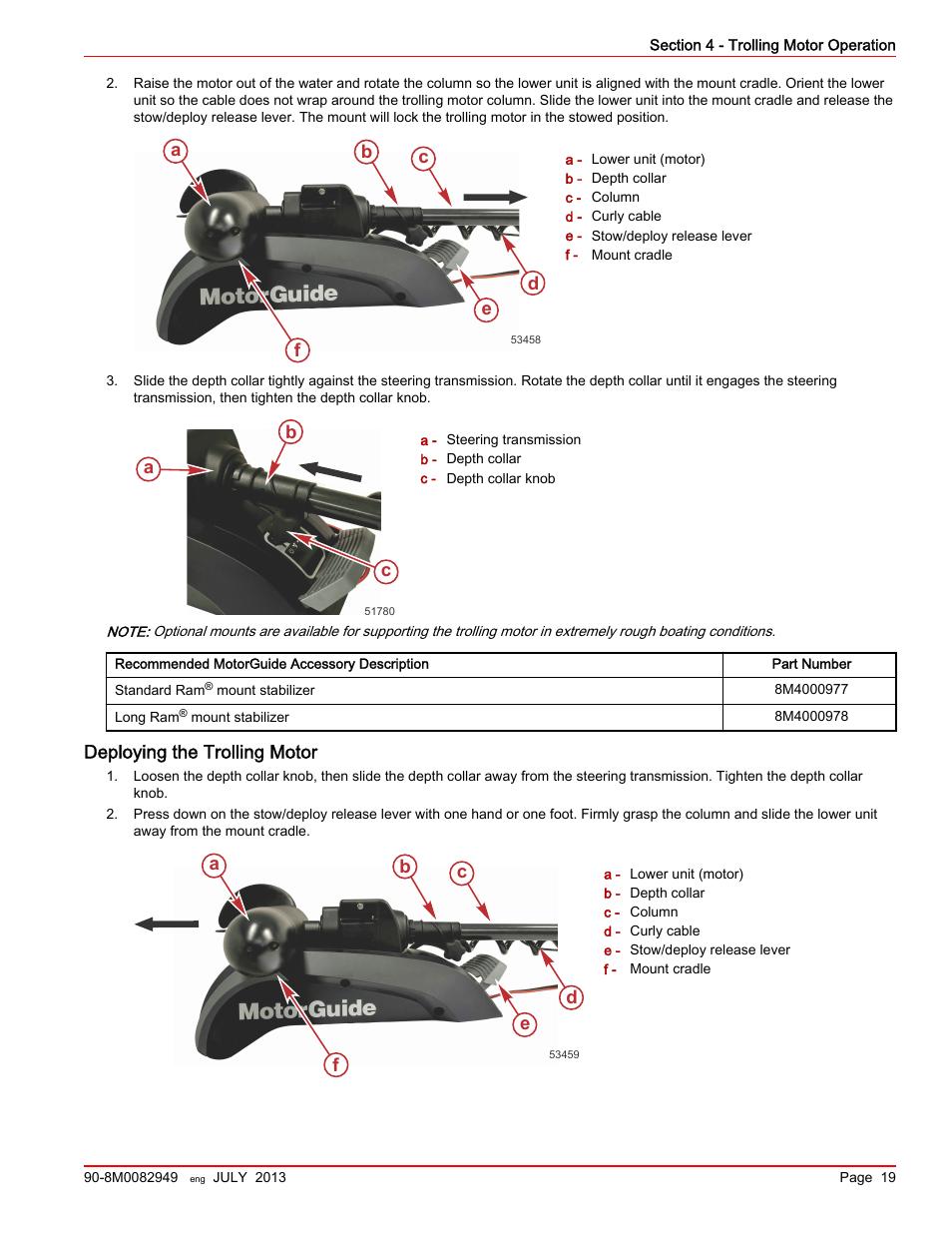 Wireless Trolling Motor Diagram Easy Rules Of Wiring Evinrude Deploying The Ab D E F Ca C Motorguide Xi5 Rh Manualsdir Com 24 Volt