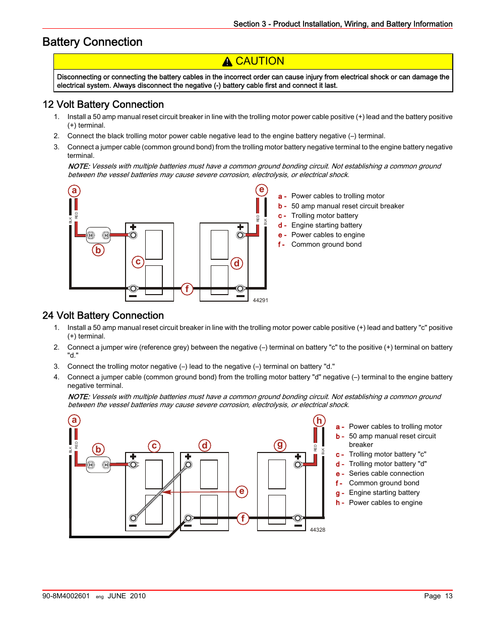 Hideaway Install Power Cable To Battery Question Manual Guide