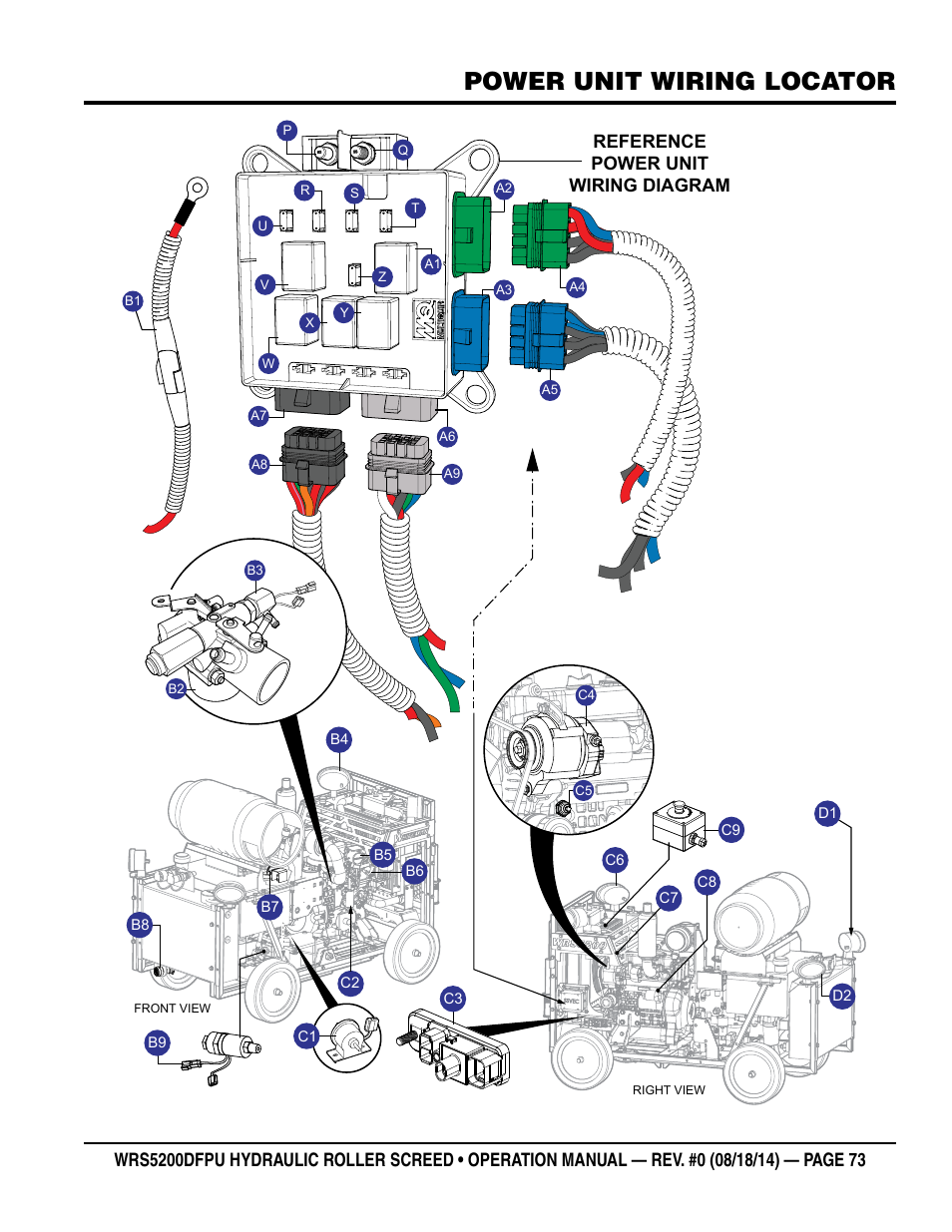 Power Unit Wiring Locator  Reference Power Unit Wiring Diagram