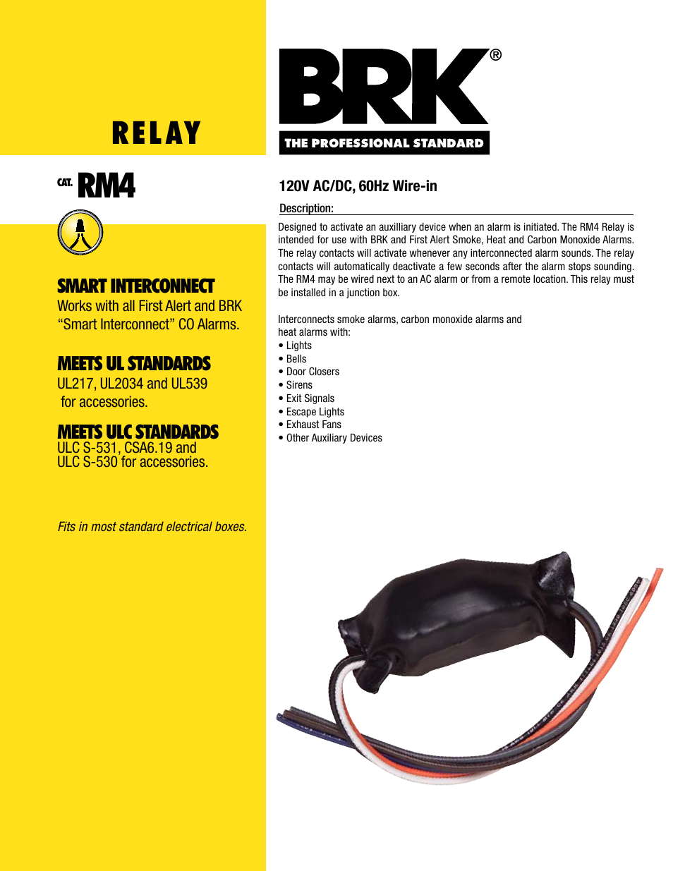 Brk Smoke Relay First Alert Detector Wiring Diagram Electronic User Manual Pages 954x1235