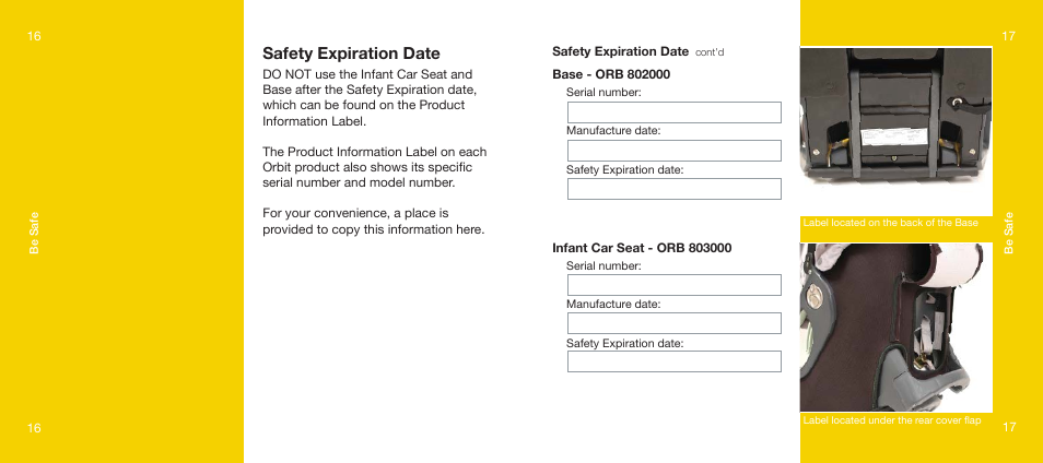 Safety Expiration Date