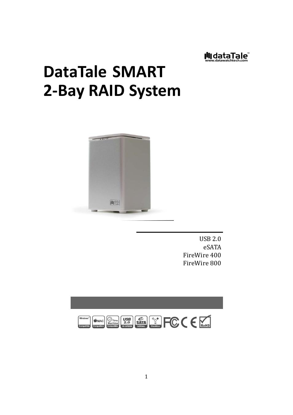 Oyen Digital Datatale Rs M2qj 2 Bay Raid User Manual 47 Pages Firewire Diagram