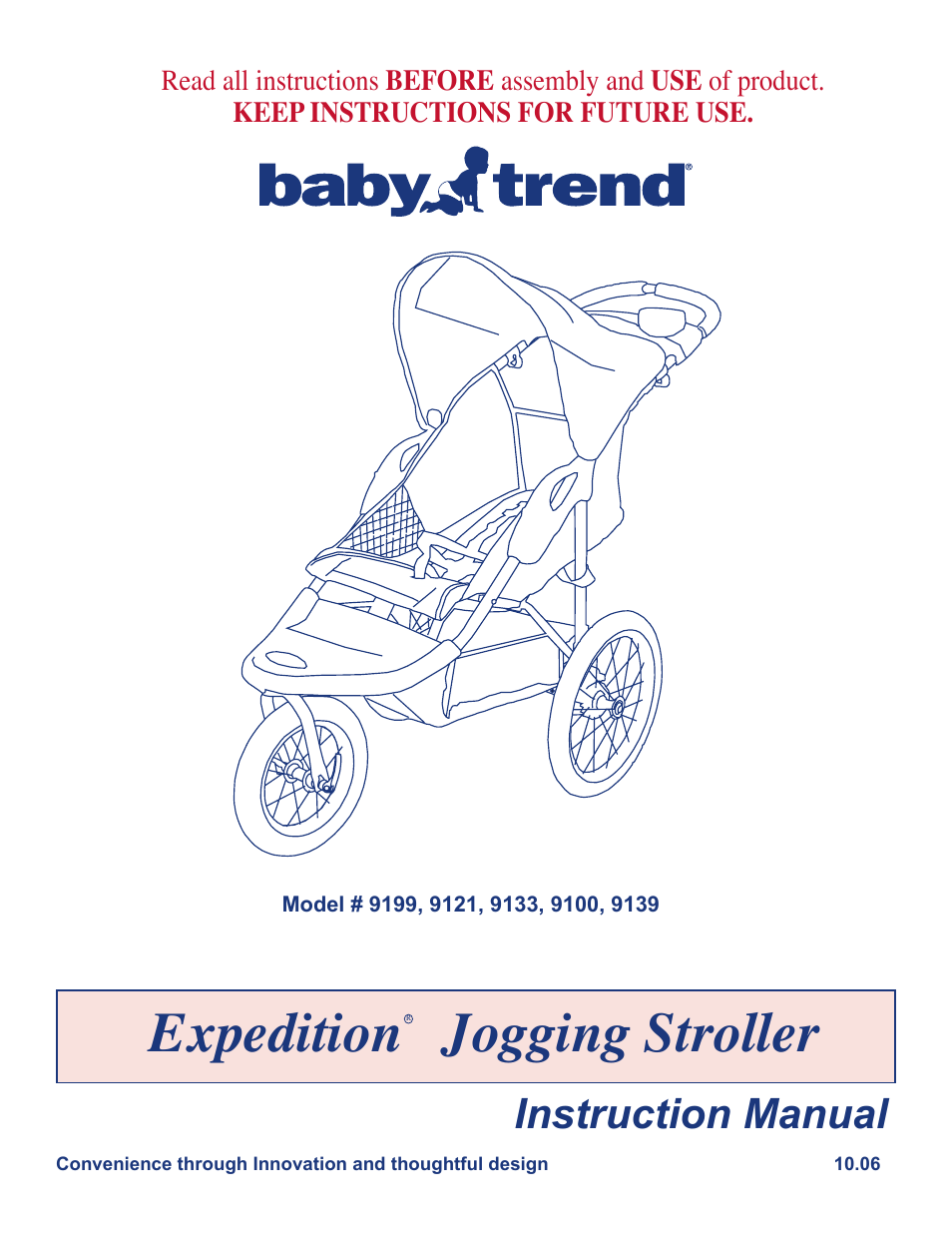 baby trend expedition jogging stroller 9100 user manual 8 pages rh manualsdir com baby trend velocity manual baby trend stroller manual