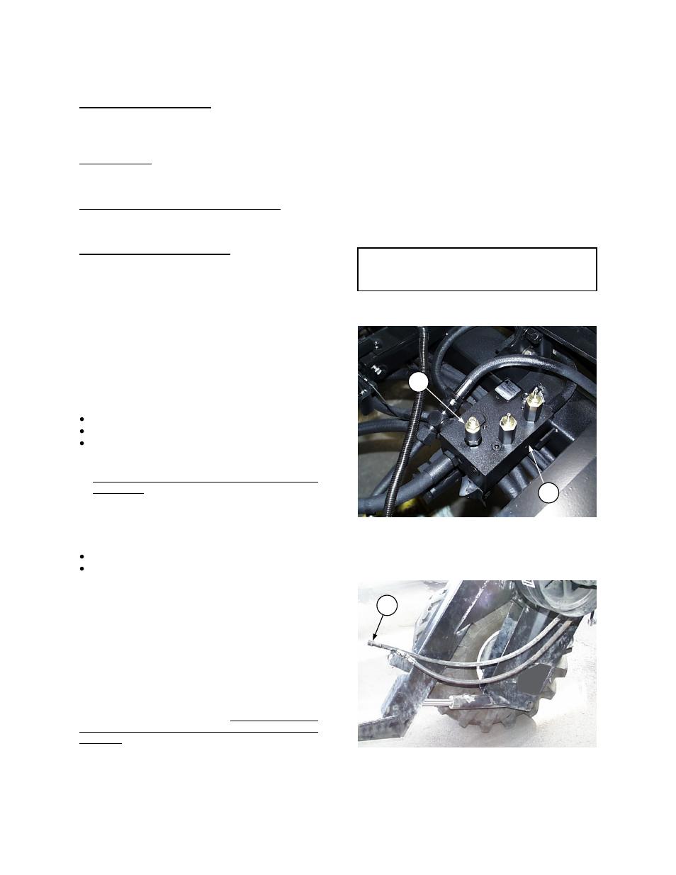 Maintenance  Service Header Drive  Hydraulics