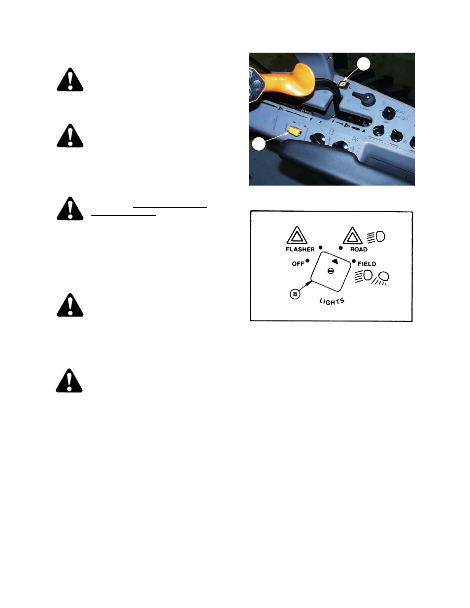 Operation transporting the windrower | MacDon 9250 SP User Manual | Page 53  / 160