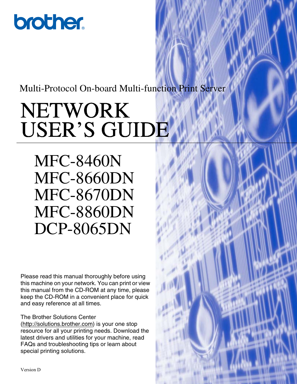 Pdf-3427] brother mfc 8460n mfc 8860dn mfc 8870dw service manual.