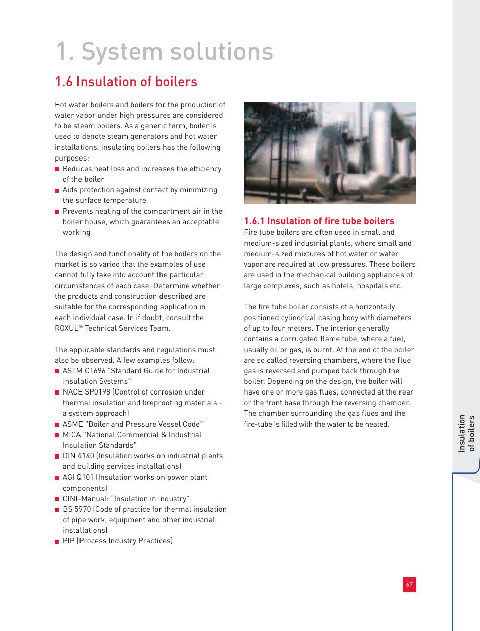 system solutions 6 insulation of boilers roxul industrial rh manualsdir com  cini insulation manual scribd