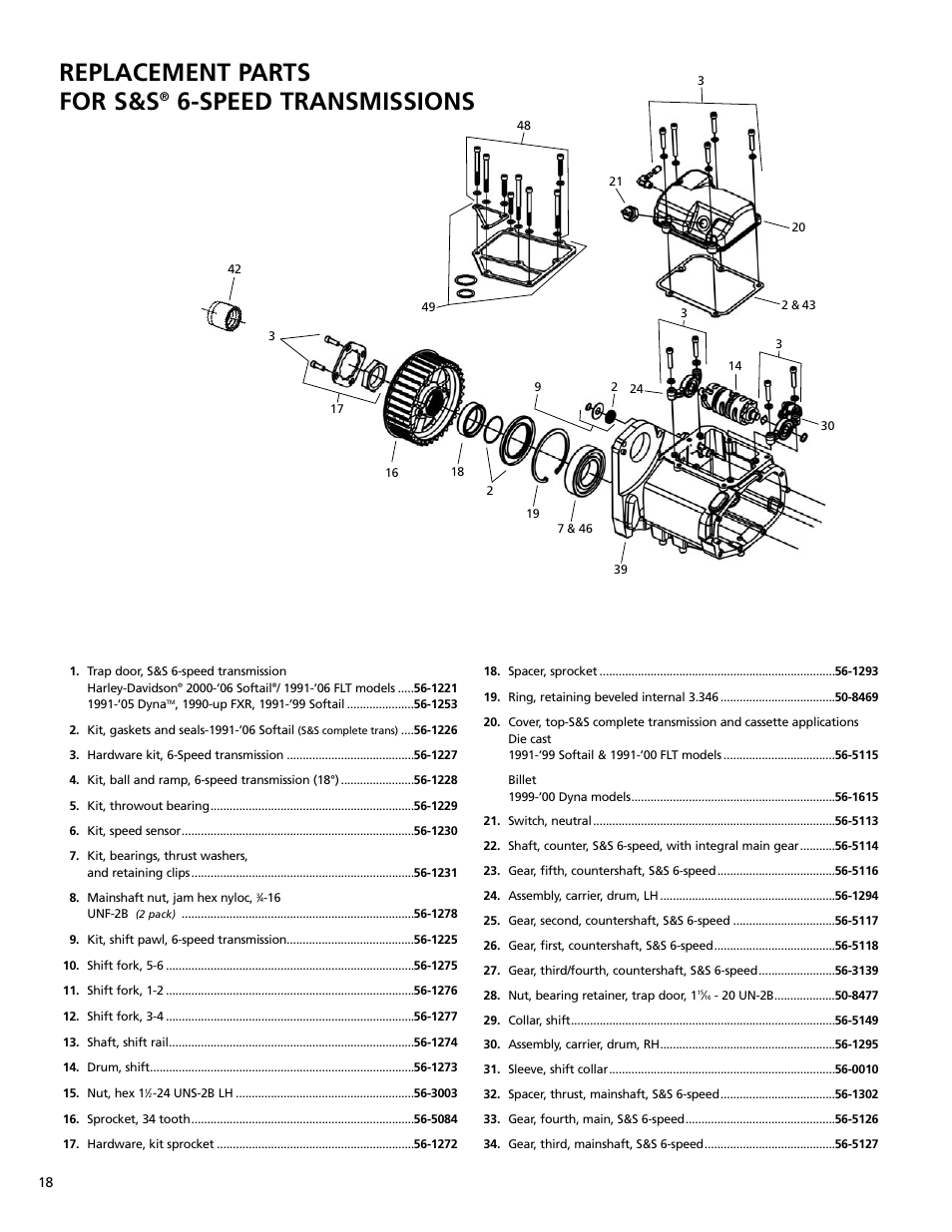 harley davidson transmission diagram harley davidson engine diagram replacement parts for s&s, speed transmissions | s&s cycle ... #4