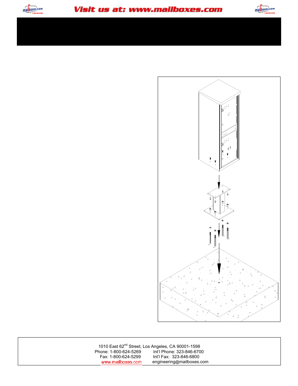 salsbury industries 3302 outdoor parcel locker user manual 2 pages