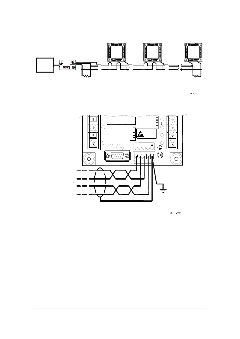 Rs 485 Multi Drop Connection Rx Tx Satec Pm175 Manual User 2wire Diagram Page 31 168