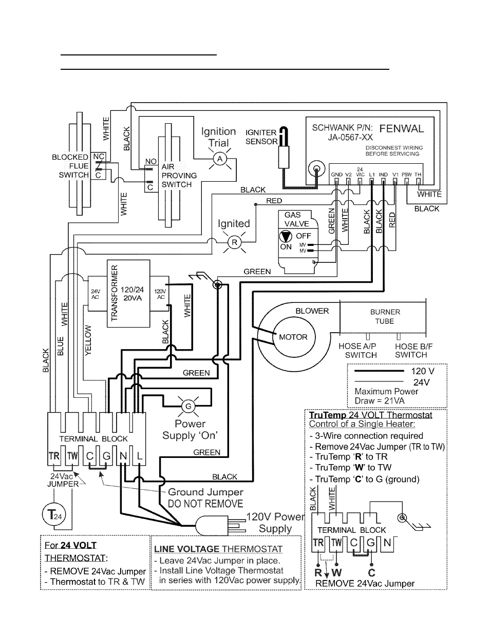 Fenwal Dsi Schwank Compactschwank P40 R User Manual Page 29 53 24vac Thermostat Wiring Diagrams
