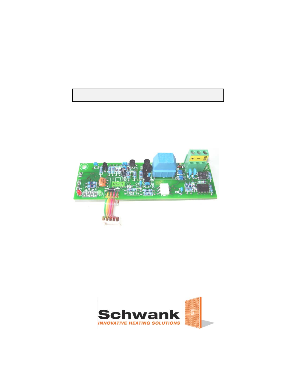 schwank thermocontrol plus series cm 485 user manual 23. Black Bedroom Furniture Sets. Home Design Ideas