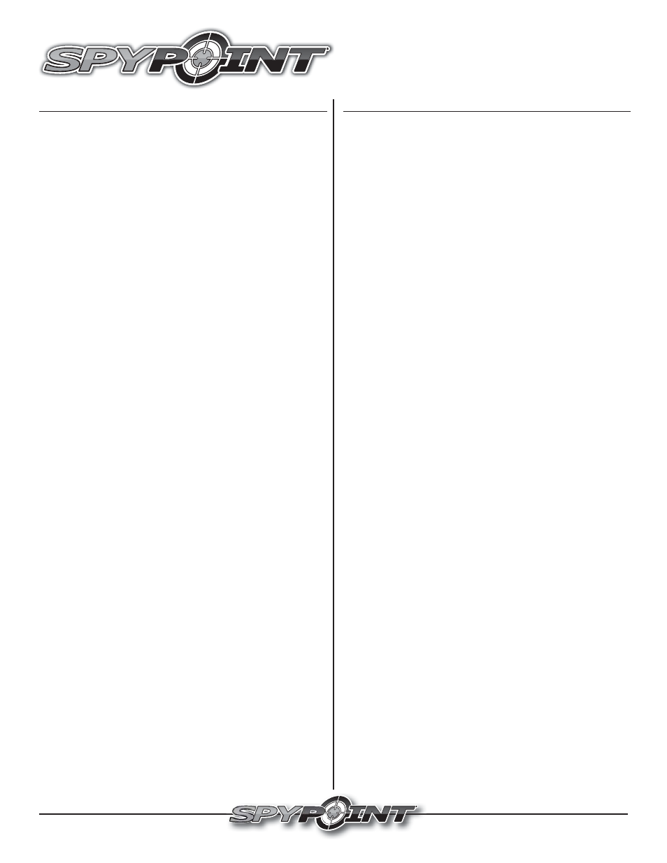 SPYPOINT EM-24 User Manual | 2 pages