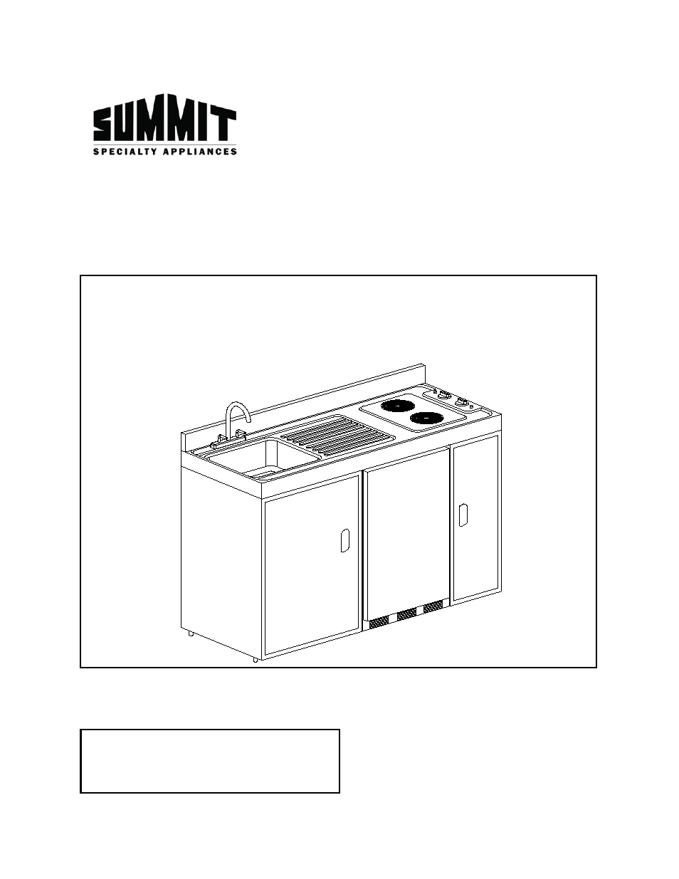 Summit C60ELGLASS User Manual | 16 pages | Also for: C60EL ...