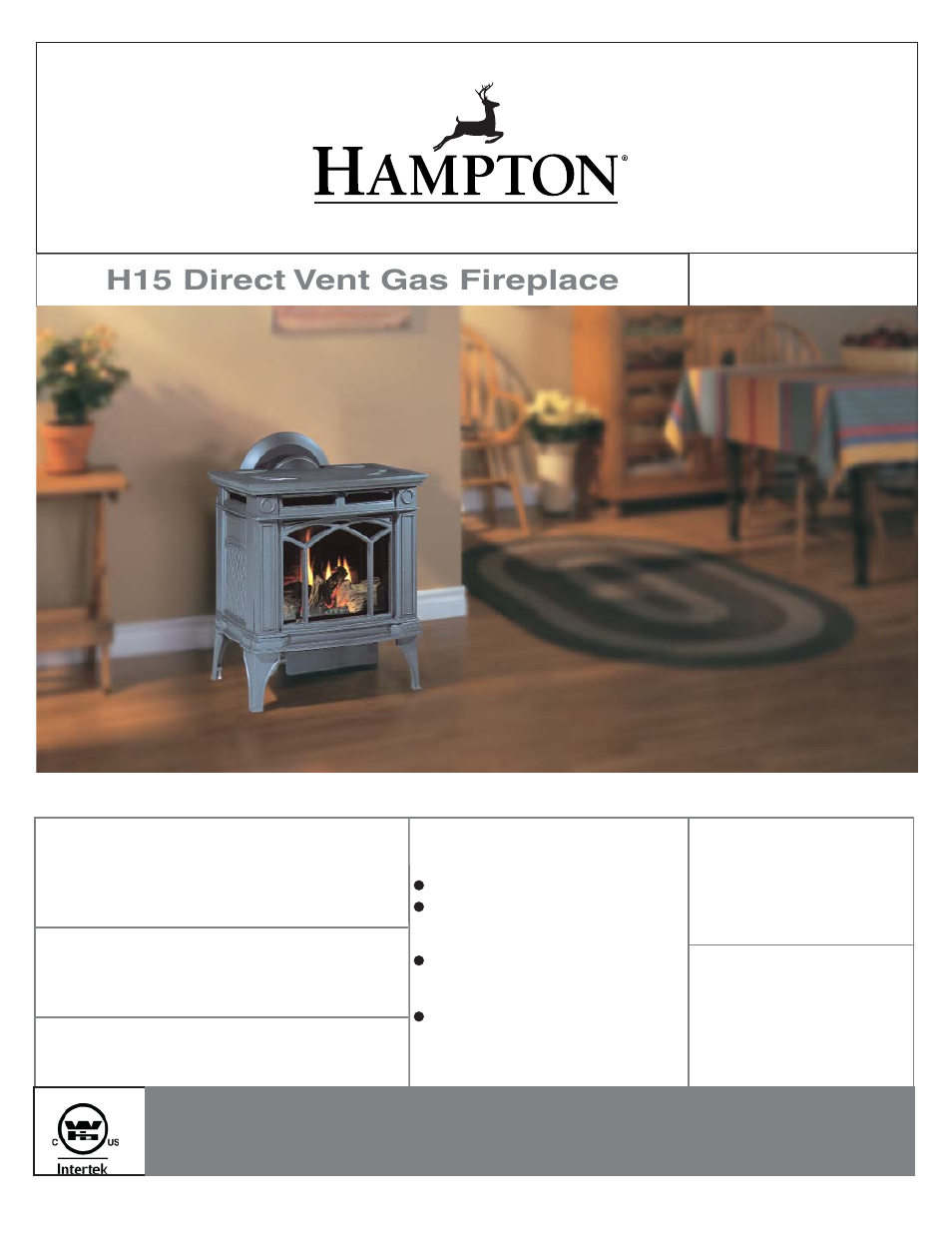 regency hampton h15 small gas stove user manual 48 pages