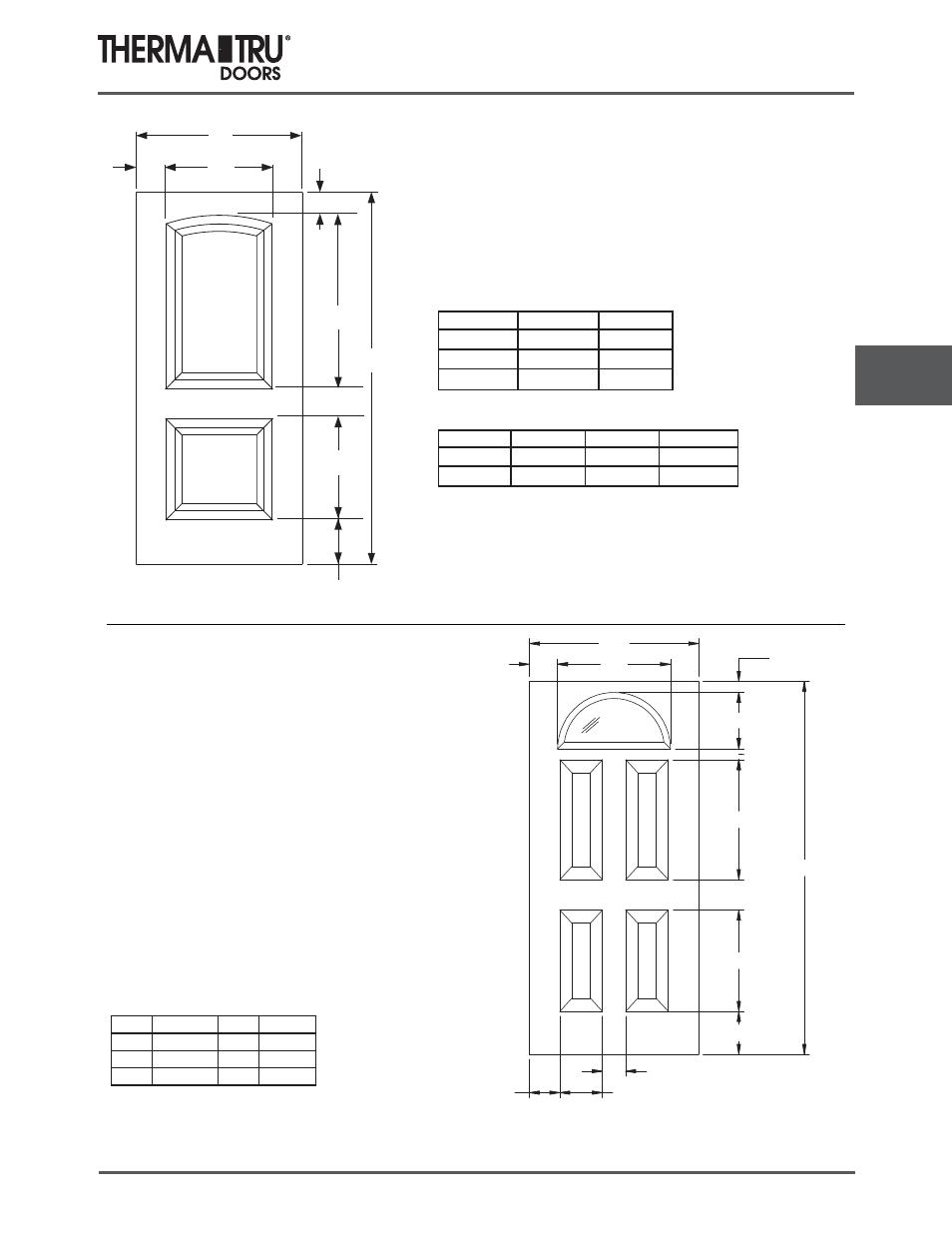 6/8 steel edge doors, 2 panel soft arch flush (slab undersize se002