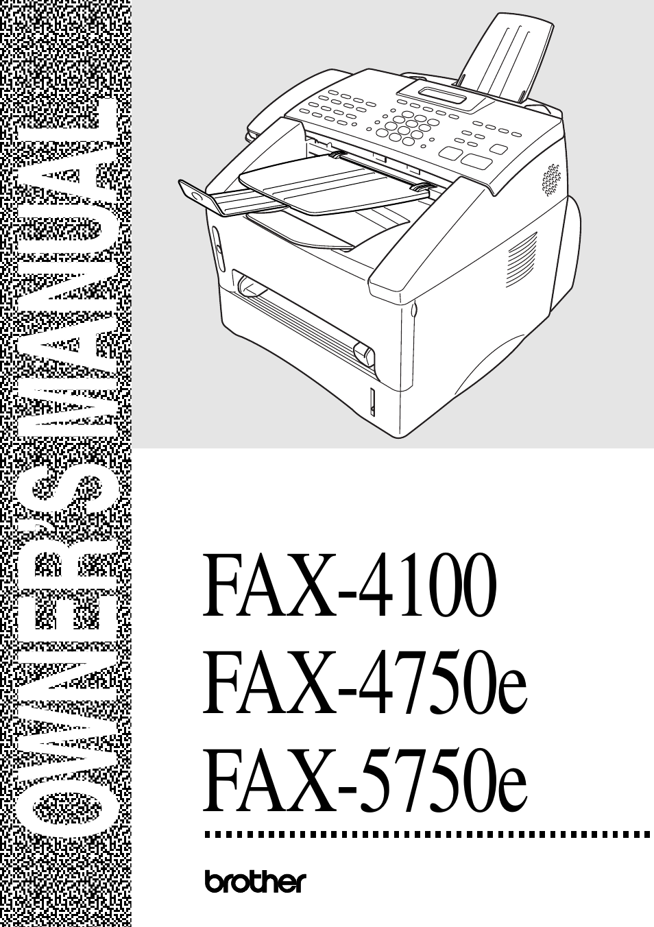 Brother intellifax-4100e fax download instruction manual pdf.
