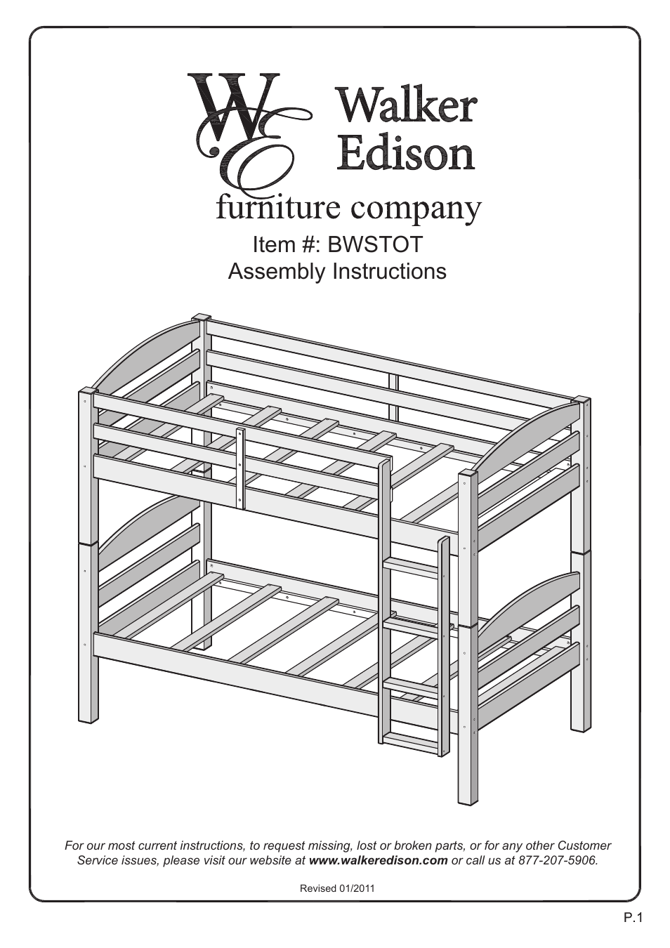 walker edison furniture bwstot wood twin  twin bunk bed