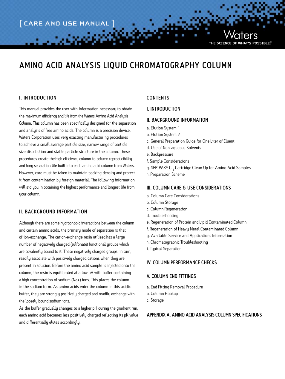 an investigation using chromatography to determine the different amino acids essay Identifying amino acids by using paper chromatography next drop with a different amino acid was to calculate the rf values is: amino-acid.