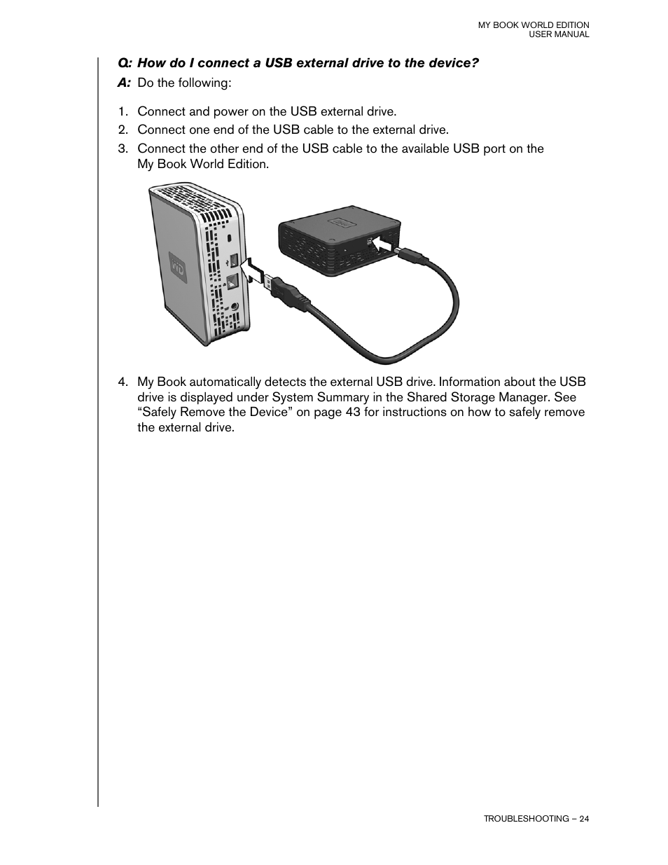Western Digital My Book World Edition II (blue rings) User Manual User  Manual | Page 27 / 52 | Also for: My Book World Edition (blue rings) User  Manual